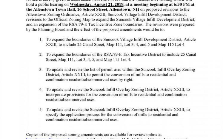 79E and Zoning Ordinance Pub Hearing Notice JPEG