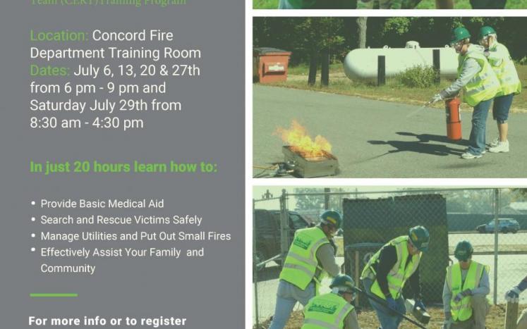 CERT Training Flyer